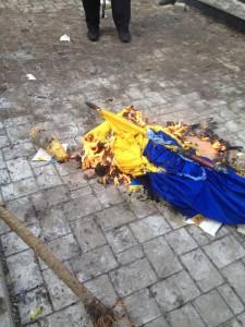 Количество пострадавших при штурме прокуратуры в Донецке возросло до 26