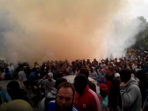 В Одессе проходят ожесточенные бои с сепаратистами. Видео