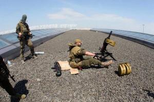 Донецкий аэропорт: Бой продолжается. Часть помещений захватил батальон «Восток»