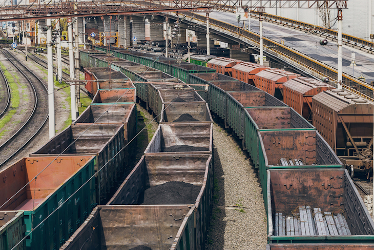 Украинские грузовые вагоны сошли с рельс в России. Есть раненые