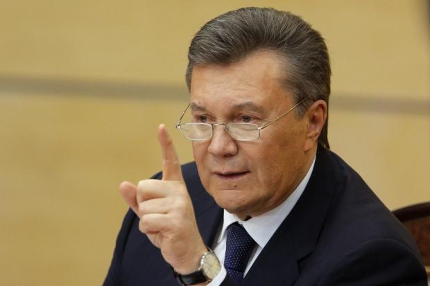 Янукович потребовал от украинских властей вывести войска с Востока