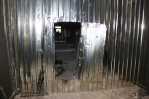 В Одессе внутри Дома профсоюзов выломали милицейские заграждения