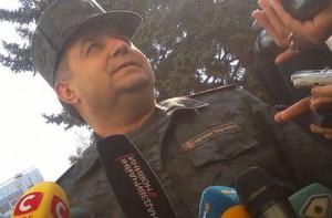 Полковника Нацгвардии Лебедя освободили из плена