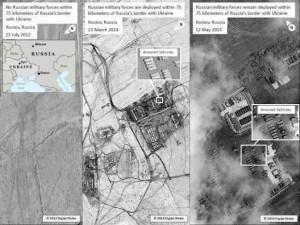 Появились фото российских войск возле украинской границы