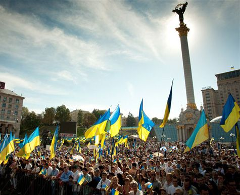 Представители Евромайдана выезжают из КГГА