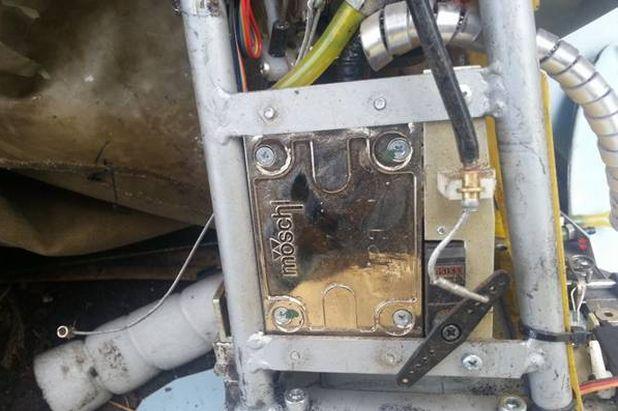 Сбитый беспилотник оказался российским самолетом-разведчиком