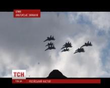 Над Крымом поднялась военная авиатехника