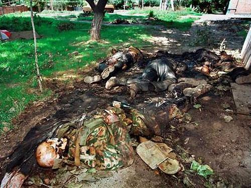 В Славянске уничтожена база террористов