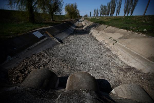 Крымский канал разрушен по вине неквалифицированных работников