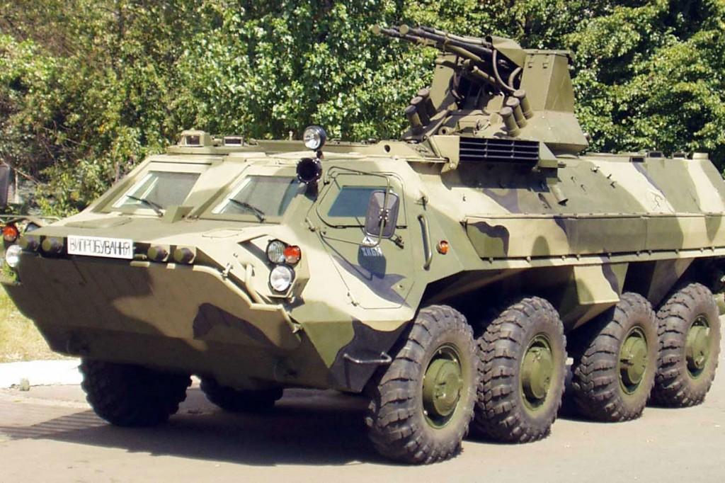 Тернополь: Батальону «Січ» передадут два БТРа из парка Славы
