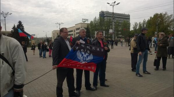 В Луганской области 94-98 % избирателей проголосовали за независимость - сепаратисты