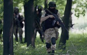 Из-за штурма боевиками райотдела милиции погиб прохожий