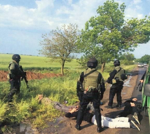 В Одессе задержали боевиков, которые набирали наемников на Восток