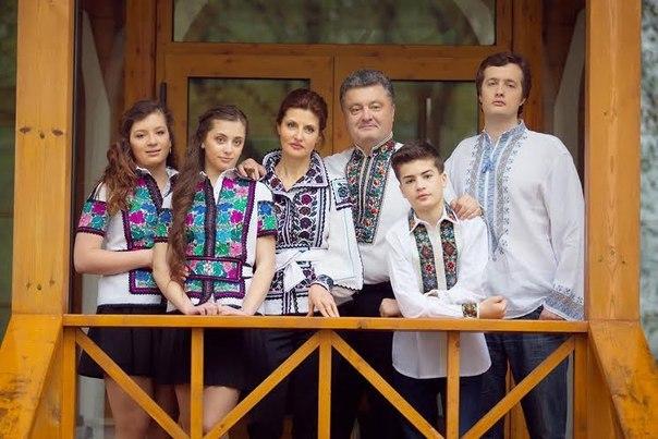 Семья  нового президента