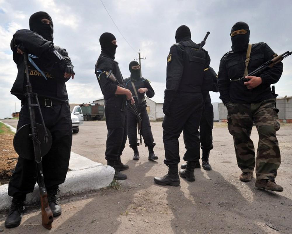 Украинские военные попали в засаду на границе с Россией, двое силовиков погибли