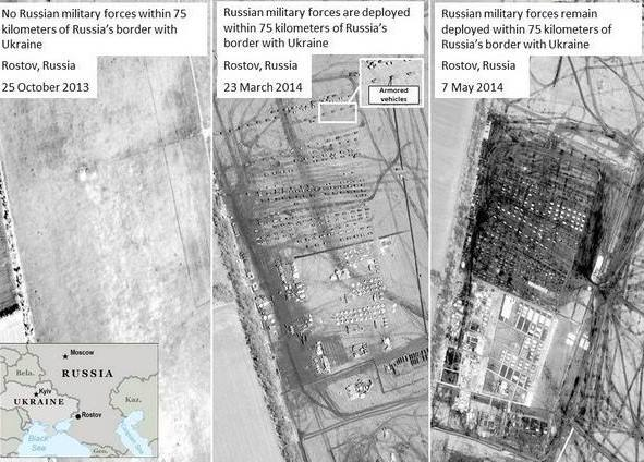 НАТО - Путин врет об отводе войск от украинской границы. Фото