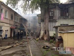 Пожар в мариупольском горсовете - здание частично выгорело