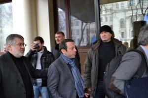 Игорь Коломойский и Геннадий Корбан