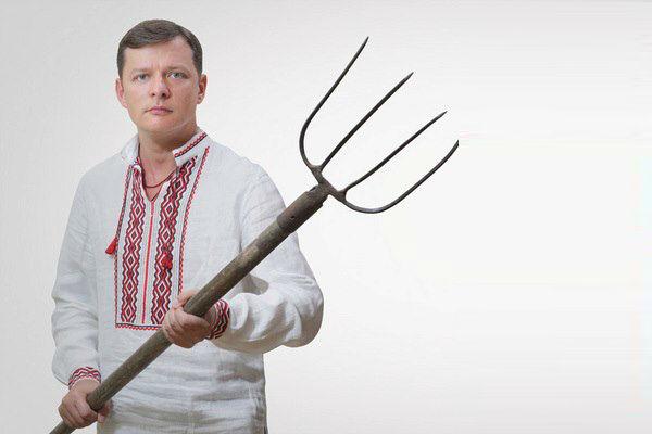 Ляшко устроил погром в кабинете председателя Киевского избиркома