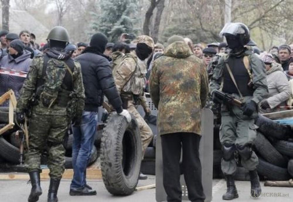 Под Краматорском уничтожили баррикаду сепаратистов