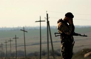 На границе с Россией задержано авто с оружием