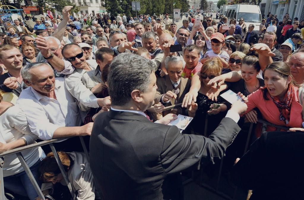 Западный фронт Порошенко