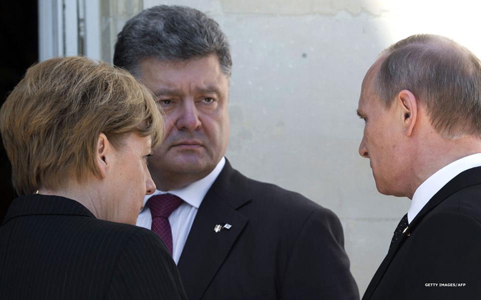 СМИ: Путин встретился с Порошенко