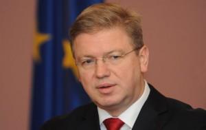 Комиссар ЕС Фюле посетит Киев 18-19 июня
