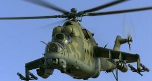 Российские вертолеты вновь нарушили украинскую границу