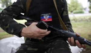 Террористы захватили военкомат в Первомайске Луганской области