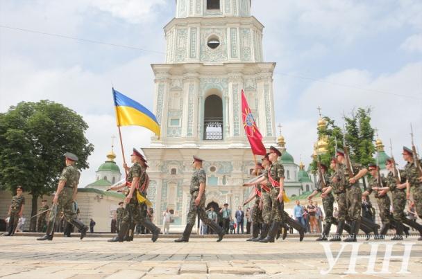 В Киеве состоялась репетиция инаугурации президента
