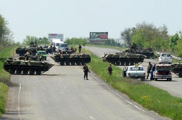 Блокпосты АТО начали охранять танки - Селезнев