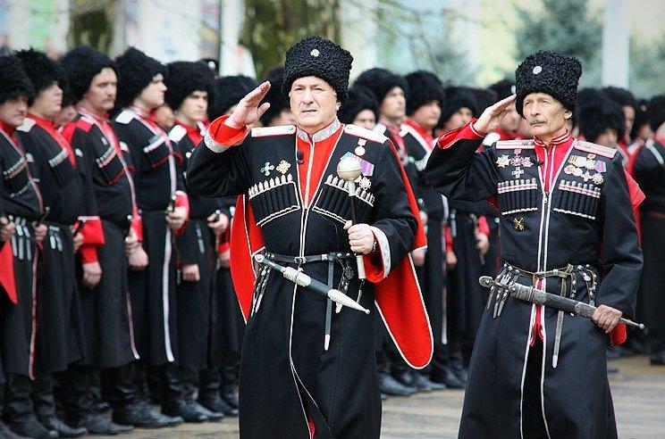 Российские казаки удерживают в заложниках наблюдателей ОБСЕ