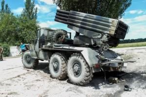 СМИ: Террористы в Луганске завезли установки «Град»