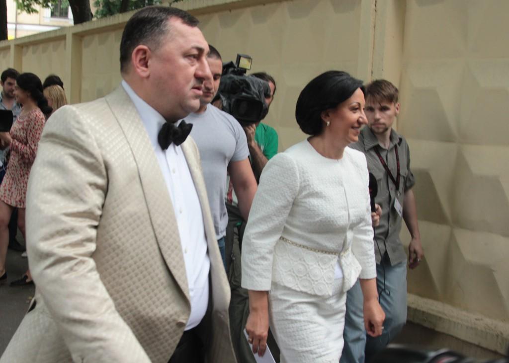 совладельцы  «Эпицентра» Александр и Галина Герега