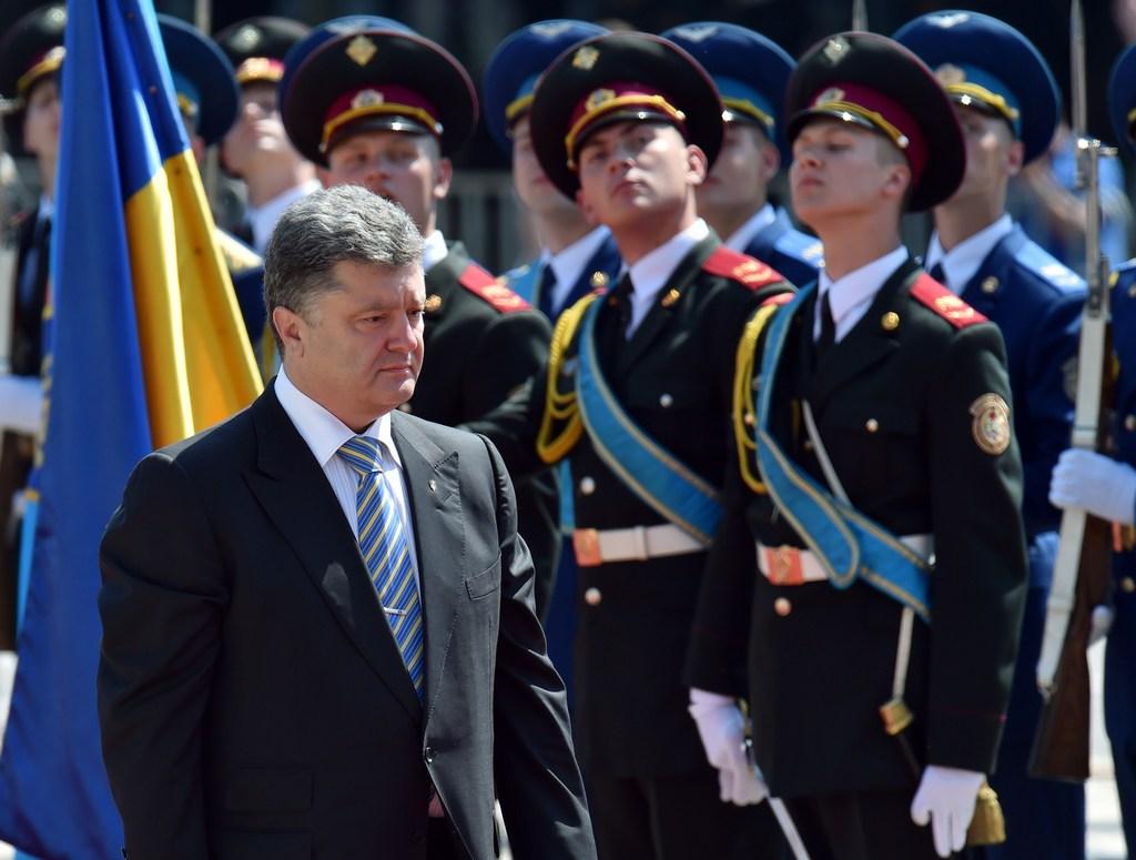Ключевые месседжи воскресного обращения  Порошенко