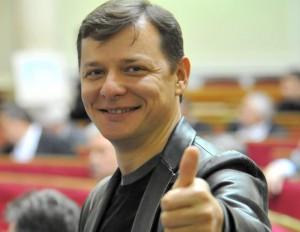 Ляшко выгнал российских журналистов из здания ВР. Видео
