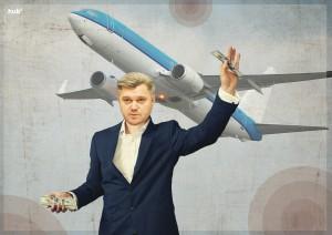 Эдуард Ставицкий захватывает украинское небо