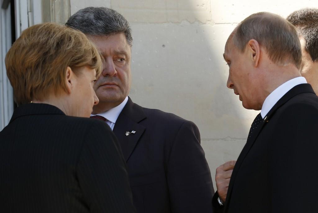 Порошенко встретится с Путиным в Минске