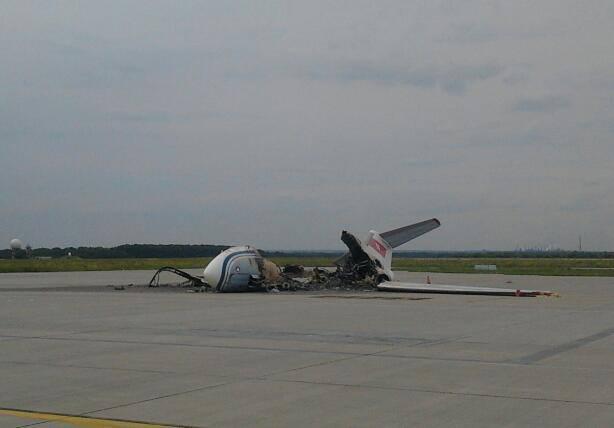 В интернете появились фото разгромленного аэропорта Донецка