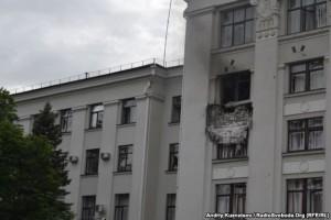ОБСЕ не подтверждает, что в Луганскую ОГА попала ракета из самолета