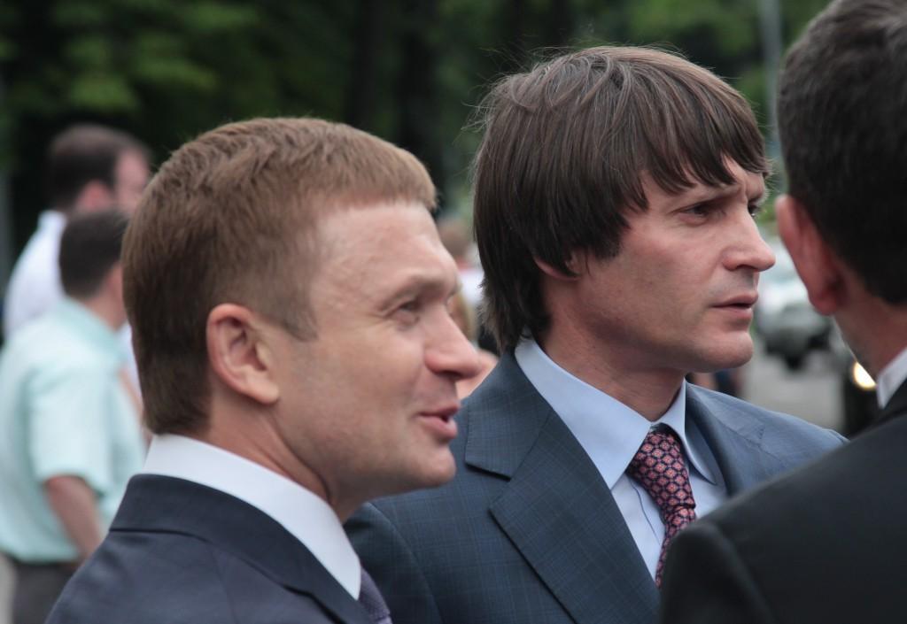 Степан Ивахив и Игорь Веремеев, совладельцы  энерго-промышленной группы «Континиум»
