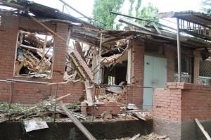 Нападение на танковую базу в Артемовске. Фото