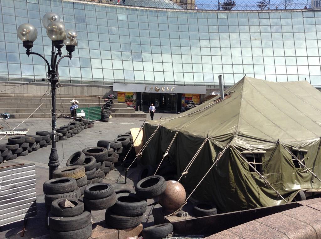 Кличко: «Майдановцы» угрожают сжечь мэрию