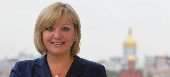 Валерия Гонтарева: «Вижу яркий свет в конце тоннеля для Украины»