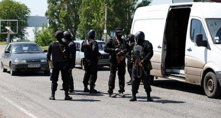 В Мариуполе проходит спецоперация сил АТО, четверо силовиков ранены