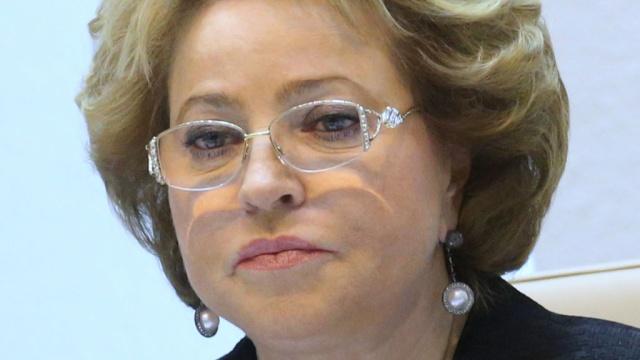 Матвиенко: Россия не вернет Крым Украине
