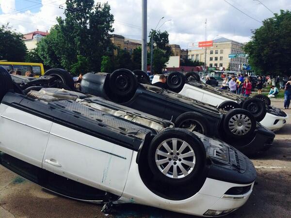 Пикет российского посольства в Киеве - ОБНОВЛЯЕТСЯ