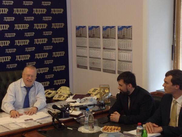 Лидер террористов ДНР Пушилин находится в России