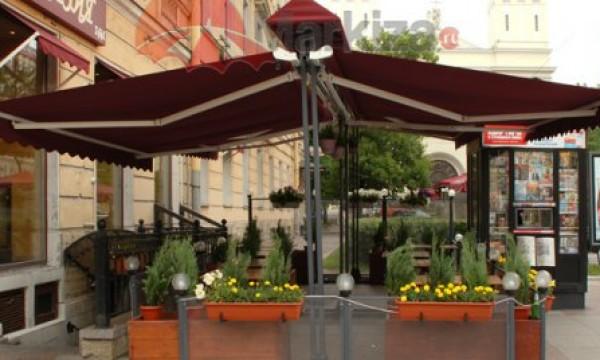 В Крыму начали сносить летние кафе